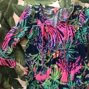 ✨Tilda Tunic in All a Glow | Lilly Pulitzer